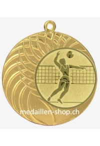 MEDAILLE VOLLEYBALL, 40 mm